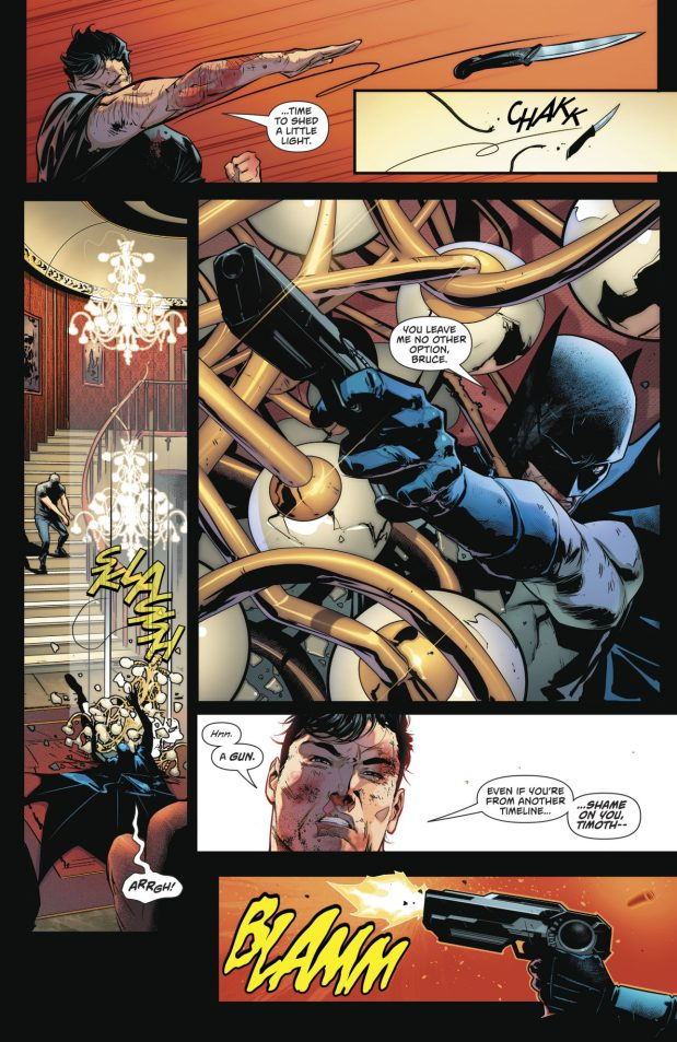 Bruce Wayne VS Batman Tim Drake (Rebirth)