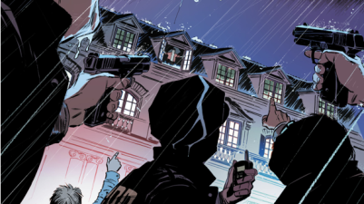 Catwoman Breaks Into Wayne Manor (Rebirth)