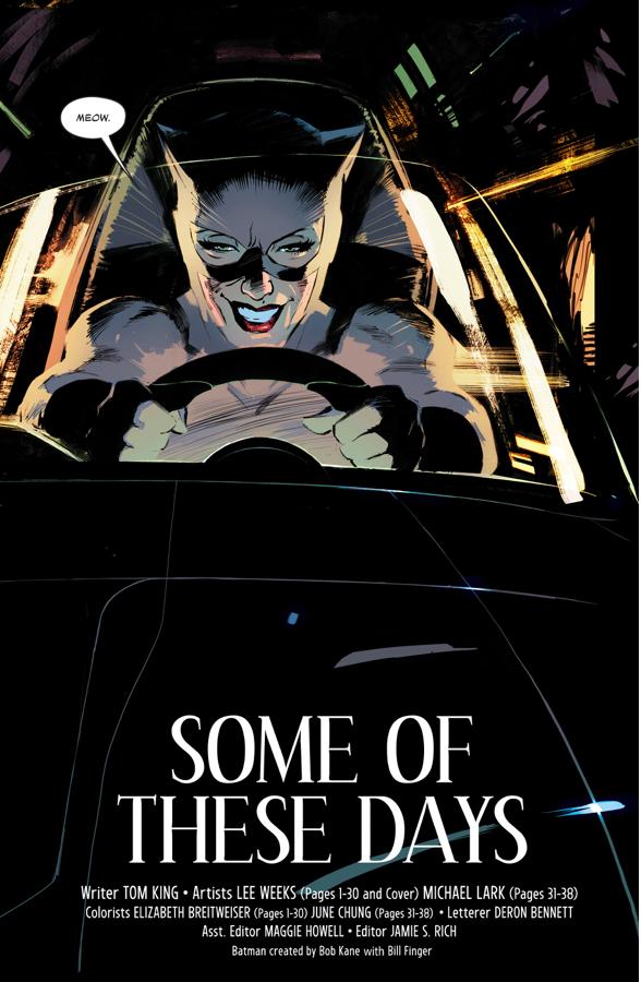 Catwoman Steals The Batmobile (Rebirth)