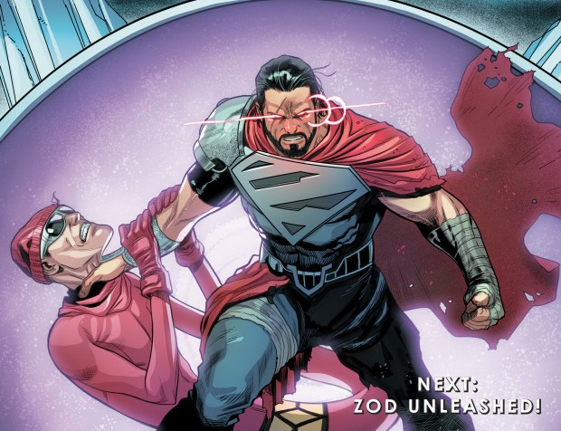 General Zod Kills Red Robin (Injustice II)