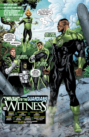 Green Lantern Corps (Hal Jordan And The Green Lantern Corps #34)