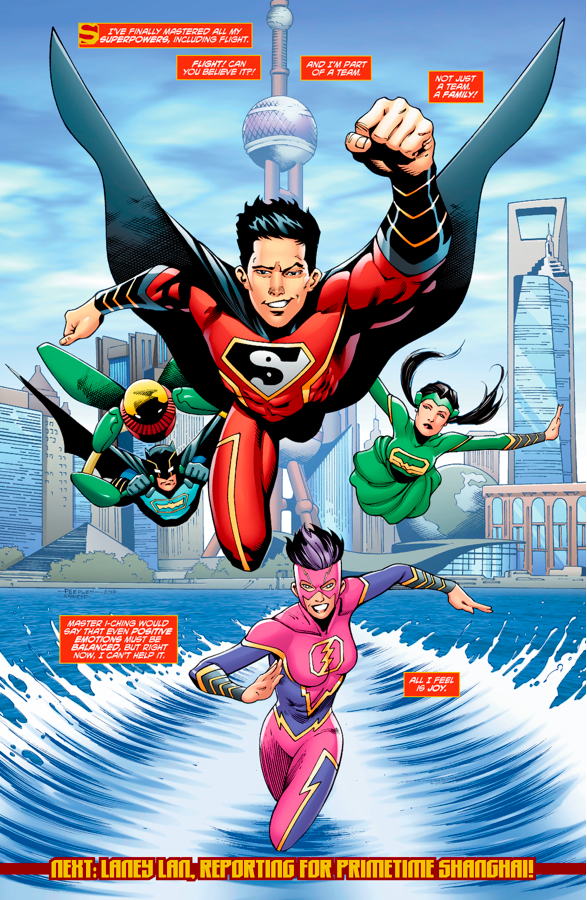 Justice League Of China (New Super-Man #18)