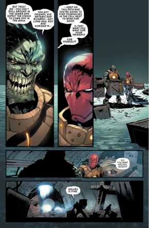 Killer Croc's Life Advice To Red Hood (Rebirth)