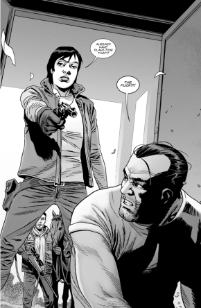 Maggie Greene Captures Negan (The Walking Dead)