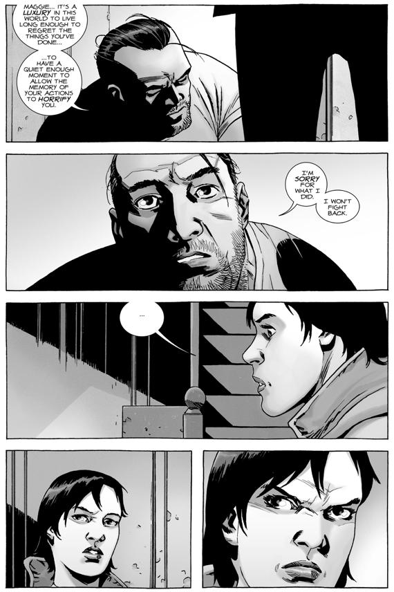 Maggie Greene Captures Negan (The Walking Dead)