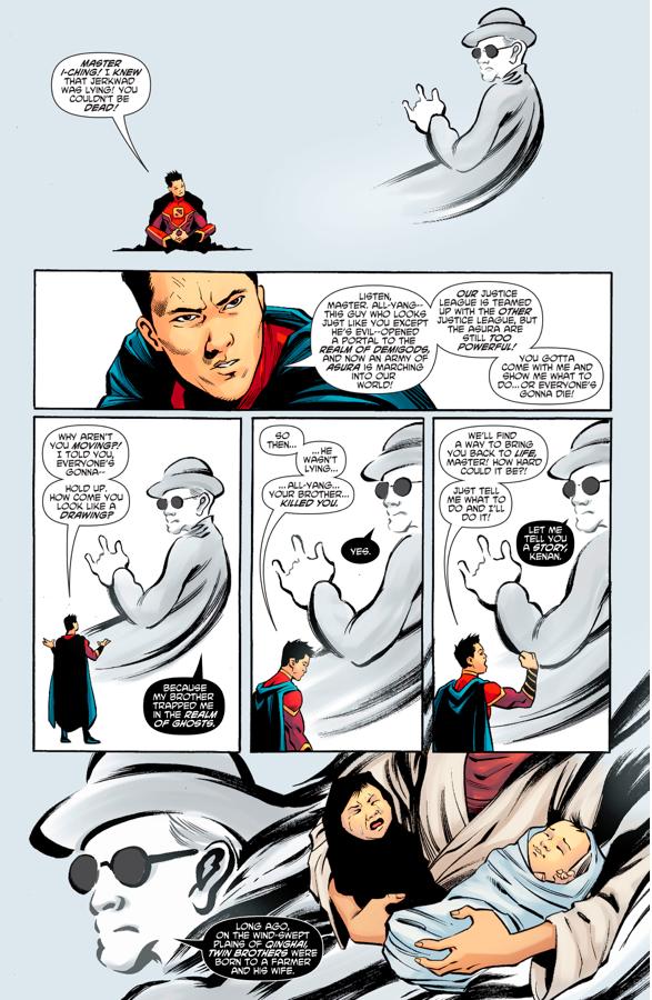 Master I-Ching's Origin Story