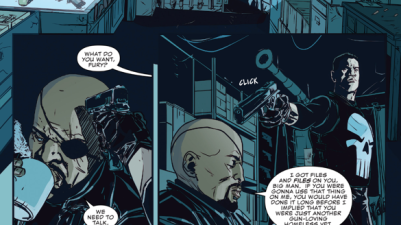 Nick Fury Jr. Recruits The Punisher