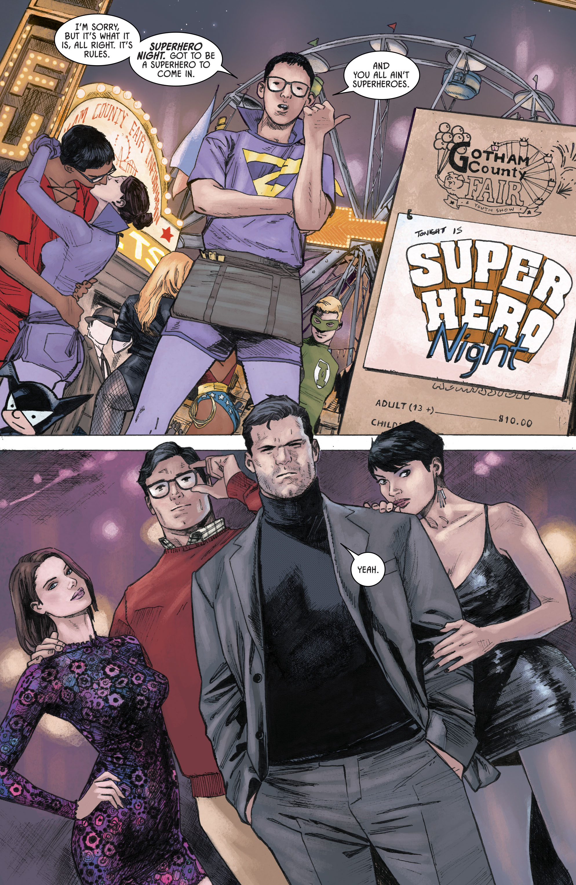 Superman And Batman Switches Costumes Rebirth Comicnewbies