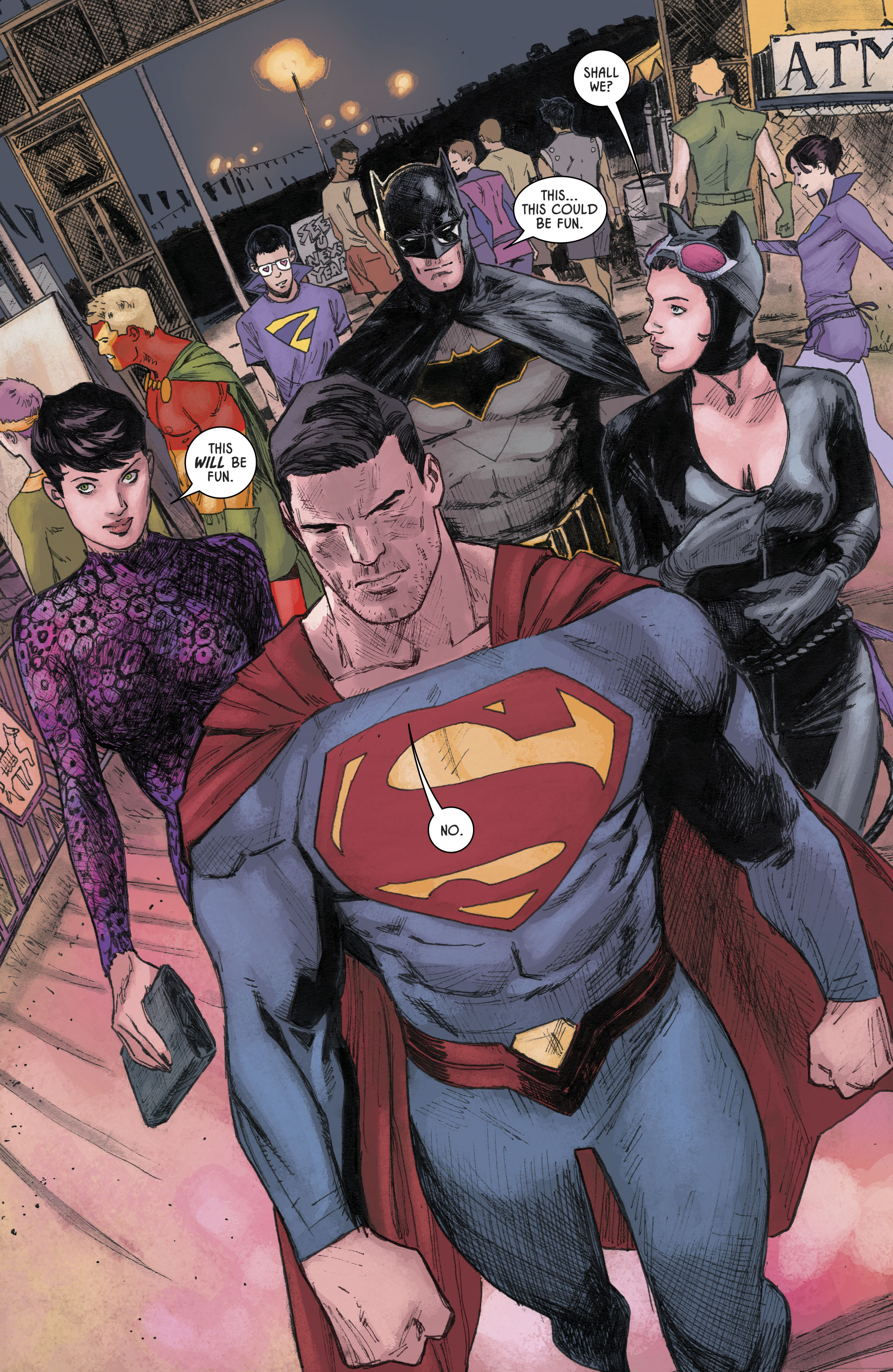 Superman And Batman Switches Costumes (Rebirth) | Comicnewbies