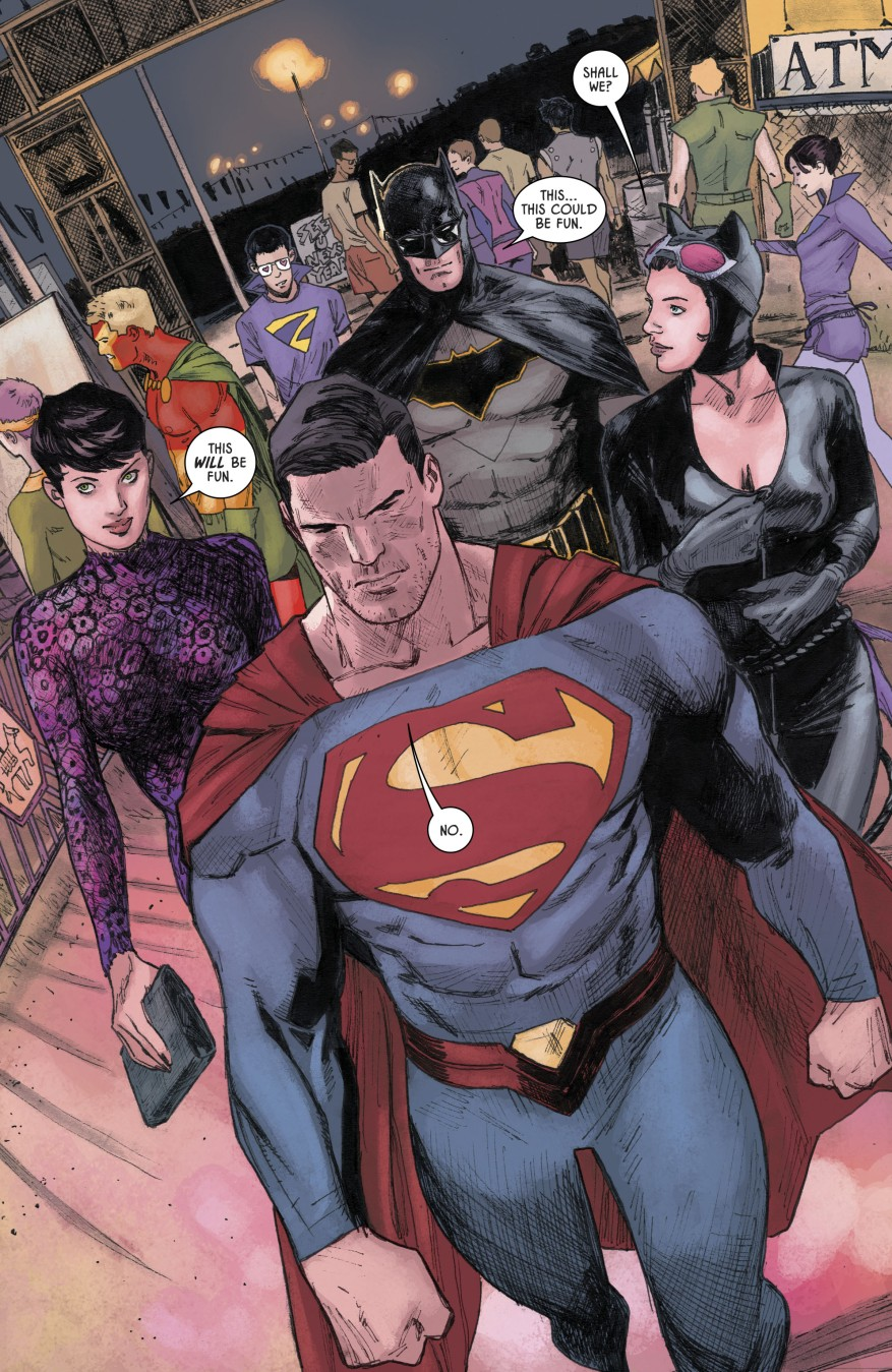 Superman And Batman Switches Costumes (Rebirth)