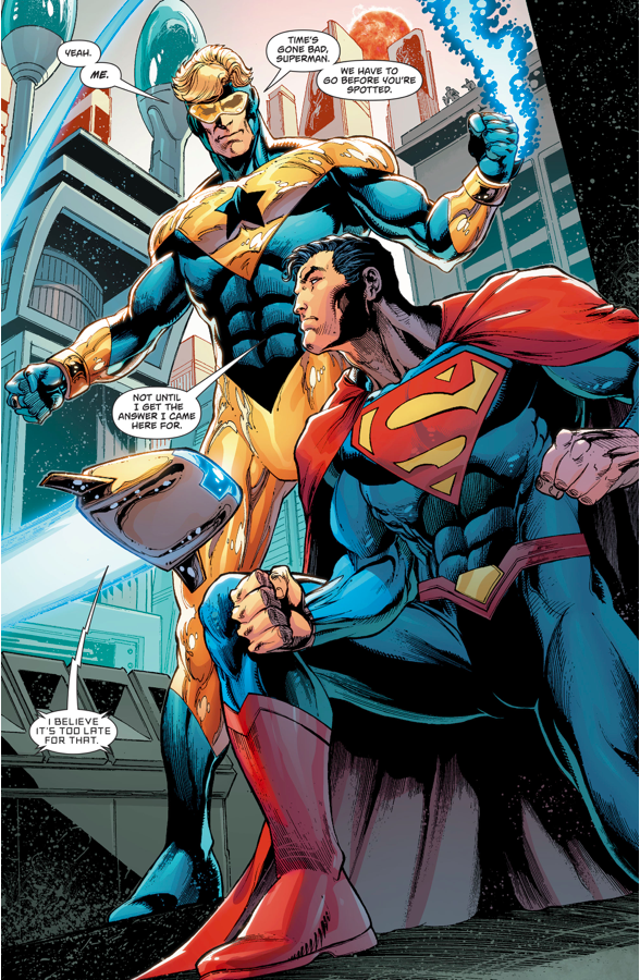 Superman And Booster Gold (Action Comics #993)