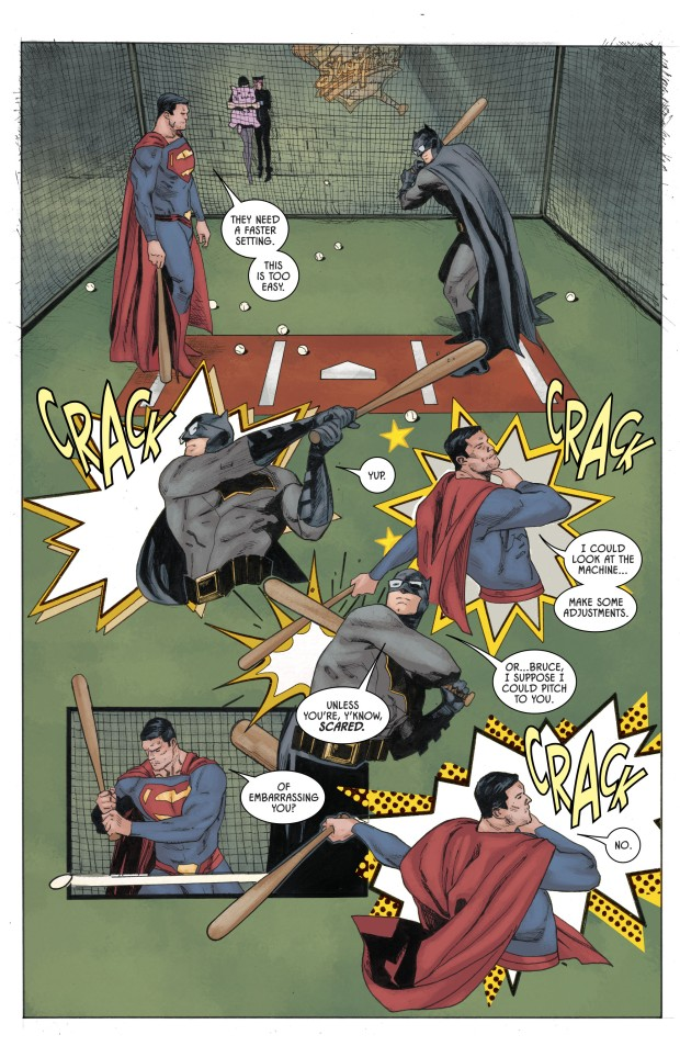Superman Pitches To Batman