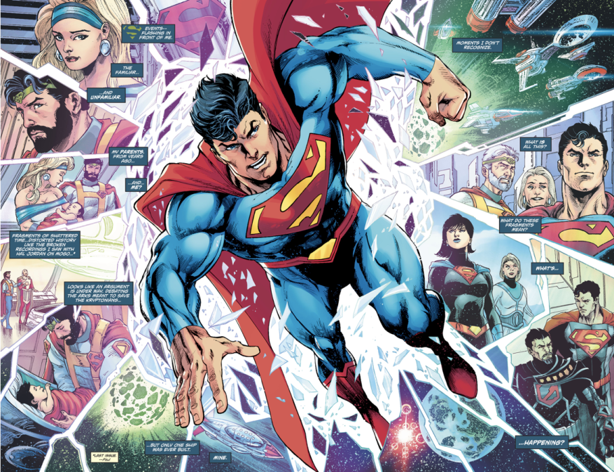 Superman Time Travels To Krypton (Rebirth)