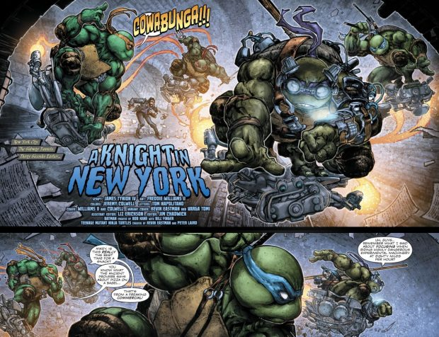 Teenage Muntant Ninja Turtles VS Foot Clan