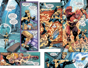 The Flash VS Booster Gold (Rebirth)