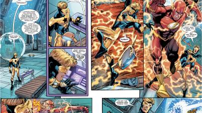 The Flash VS Booster Gold (Rebirth)