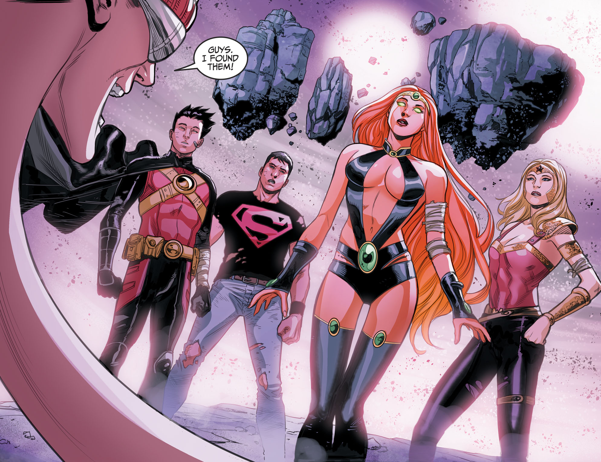 The Teen Titans In The Phantom Zone Injustice Ii -4444