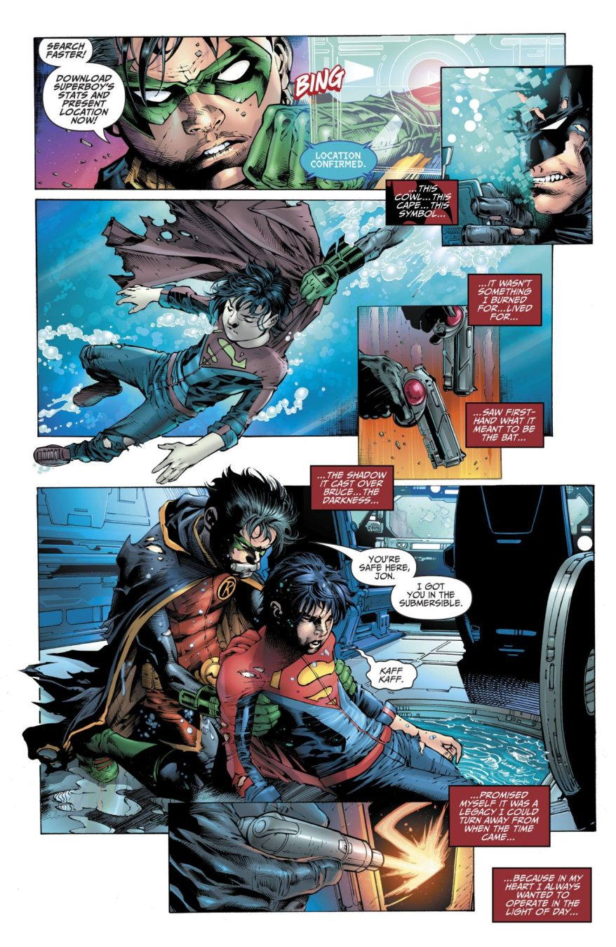Tim Drake Becomes Savior