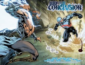 Zeus VS Darkseid (Rebirth)