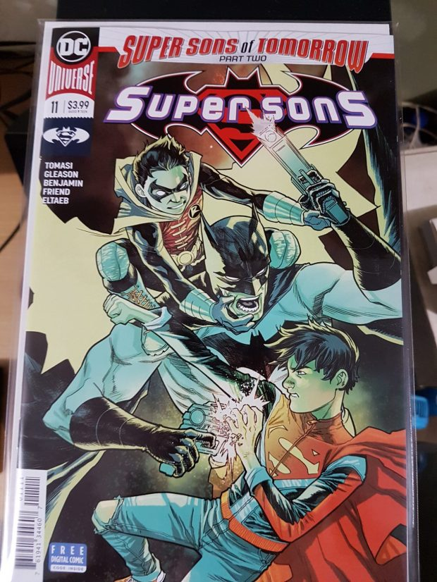super sons tim drake from the future