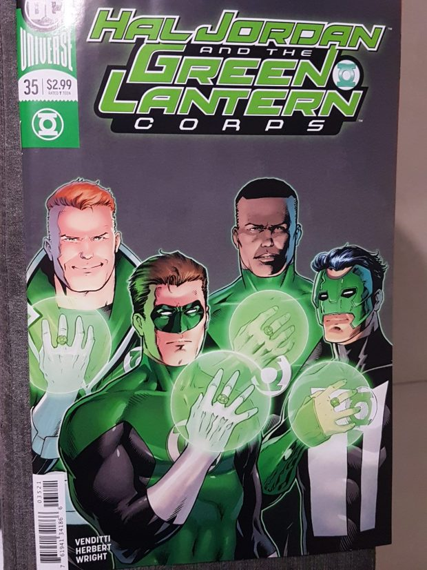 the 4 horsemen tribute green lantern