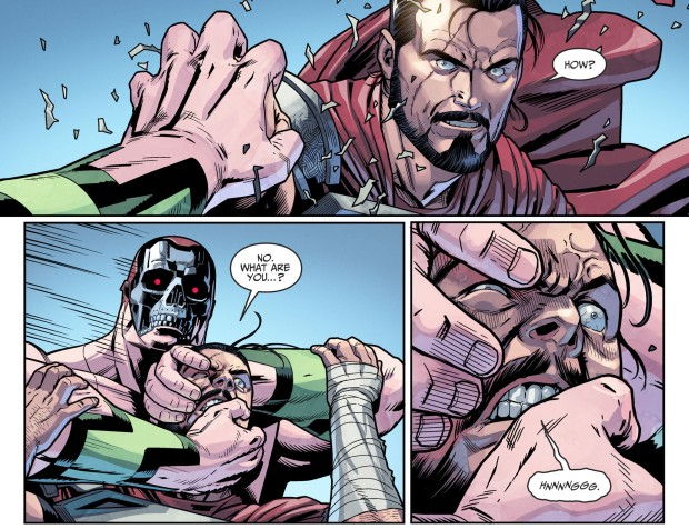 Amazo Kills General Zod (Injustice II)