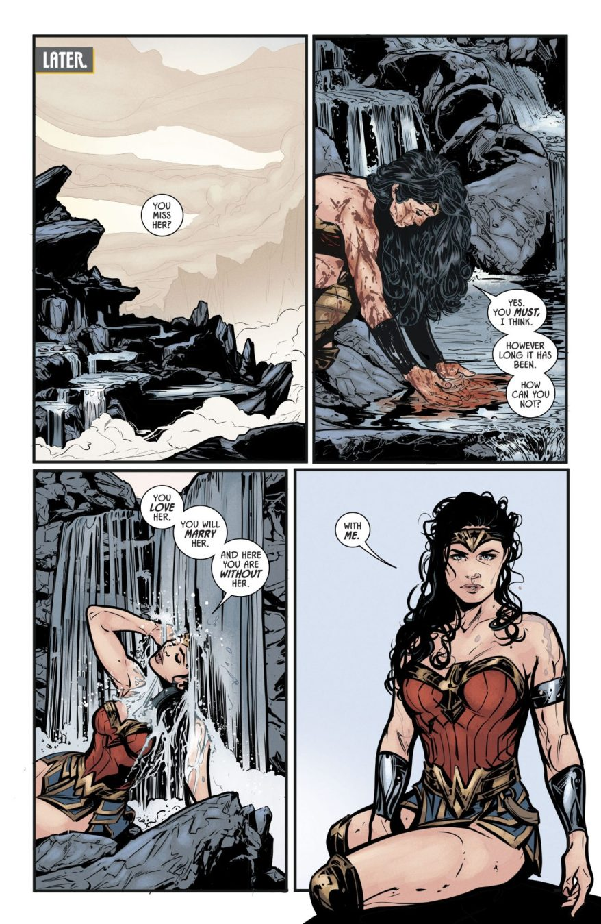 Batman And Wonder Woman VS The Hordes Of Gehenna