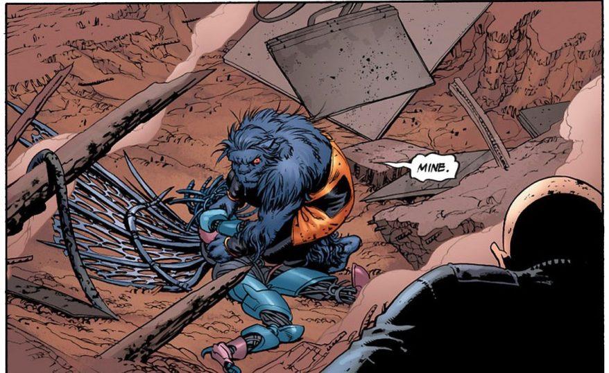 Beast VS Danger (Astonishing X-Men)