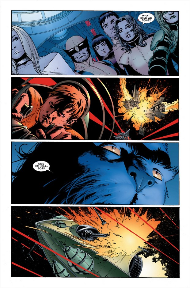 Breakworld Warships Kill Cyclops (Astonishing X-Men)