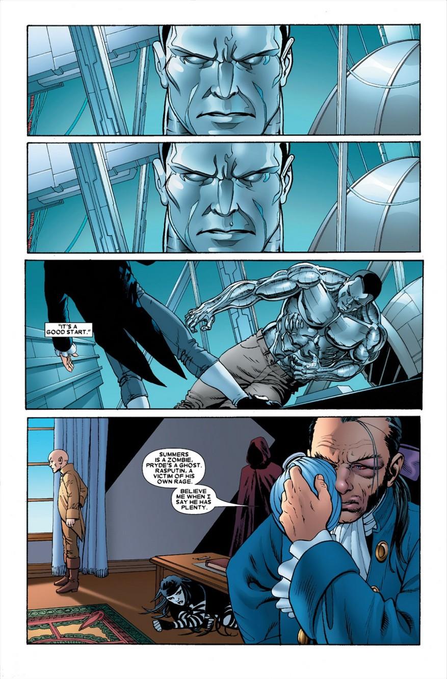 Colossus VS Sebastian Shaw (Astonishing X-Men)