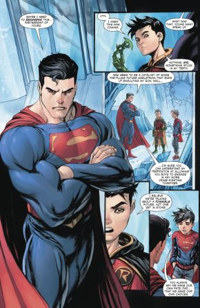 Damian Wayne's Promise To Superman (Rebirth)