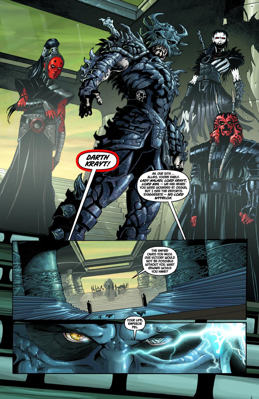 Darth Krayt Betrays Emperor Roan Fel   Comicnewbies