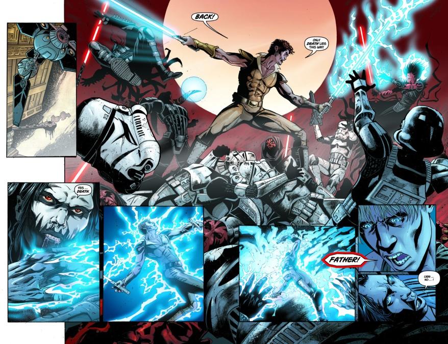 Darth Nihl Kills Kol Skywalker