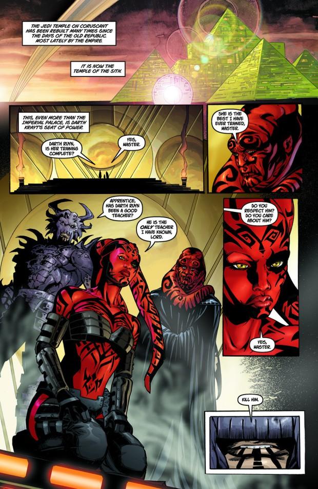 Darth Talon Becomes Darth Krayt's Hand