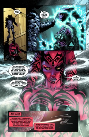 Darth Talon Becomes Darth Krayt's Hand