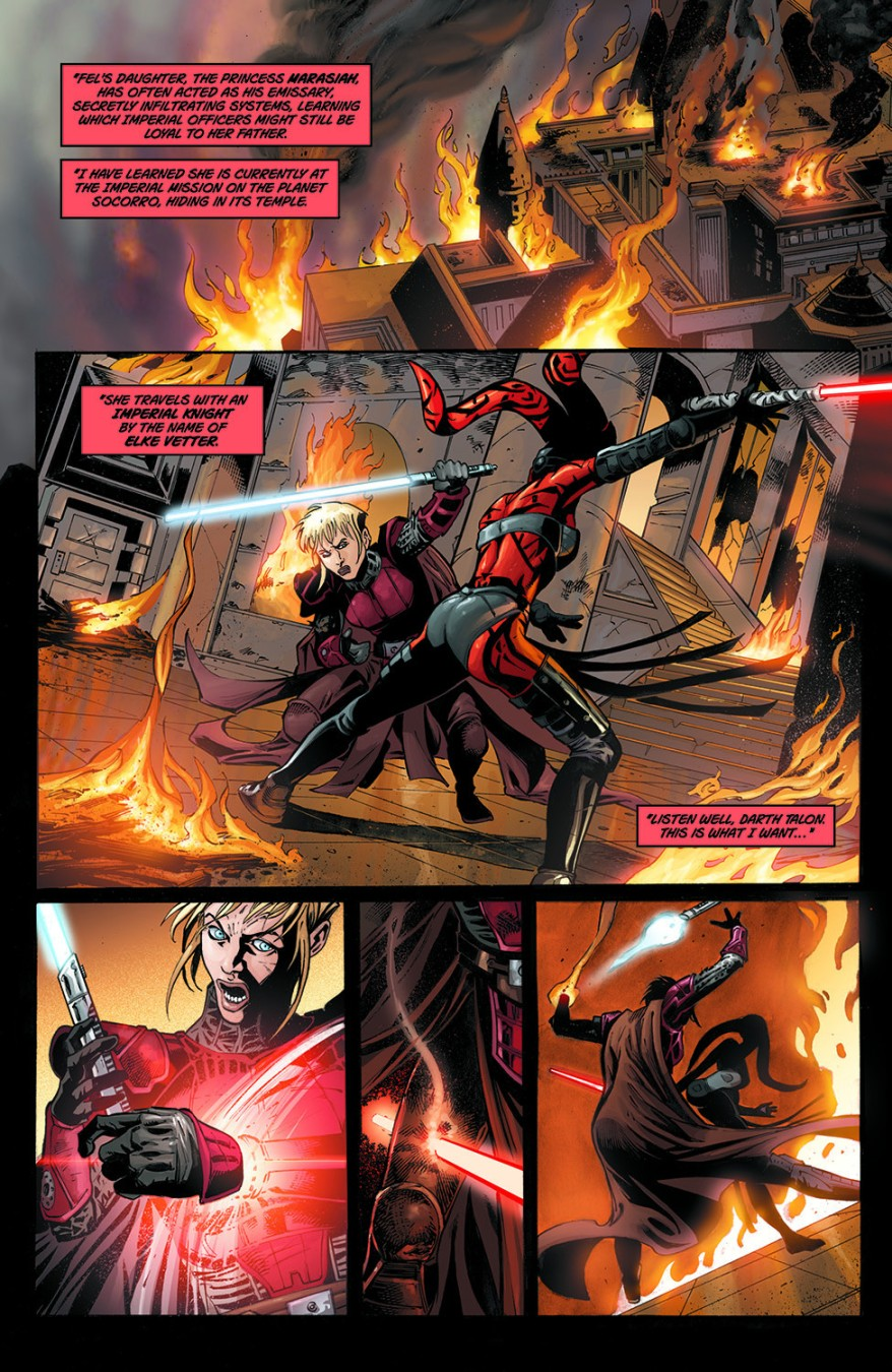 Darth Talon Kills Elke Vetter
