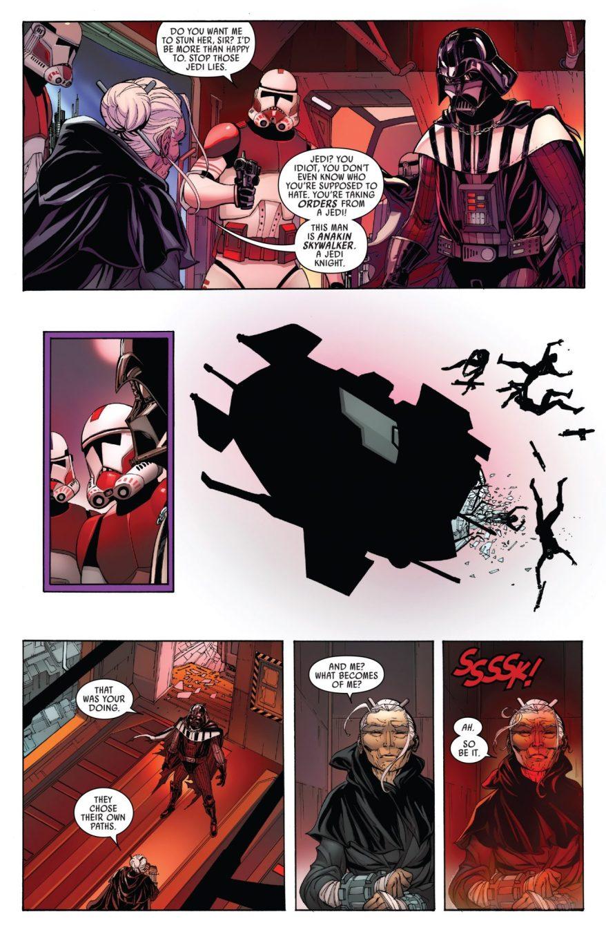 Darth Vader Kills Jocasta Nu