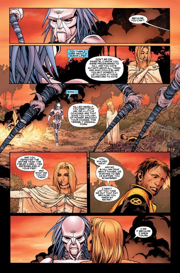 Emma Frost VS Danger (Astonishing X-Men)