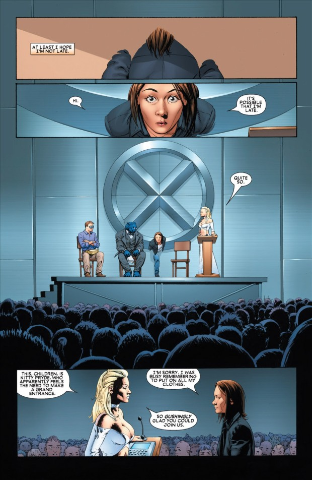 First Day Orientation At Xavier's School For Mutants