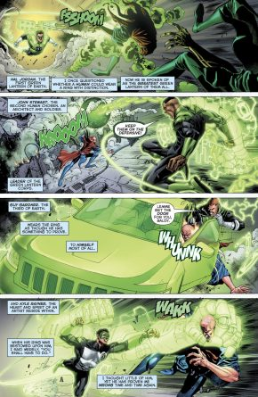 Ganthet Describes The 4 Corpsmen
