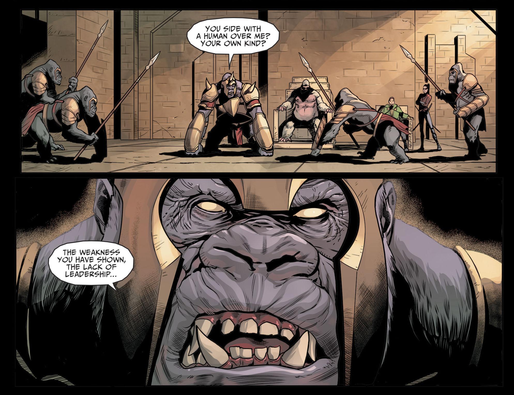 Gorilla Grodd Challenges Solovar (Injustice II)   Comicnewbies