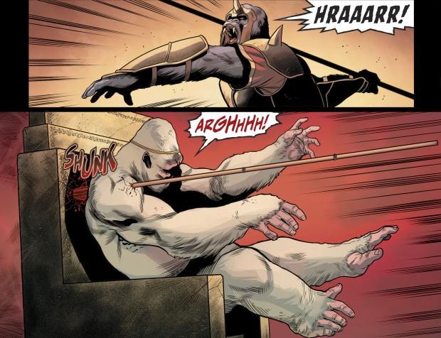 Gorilla Grodd Challenges Solovar (Injustice II)