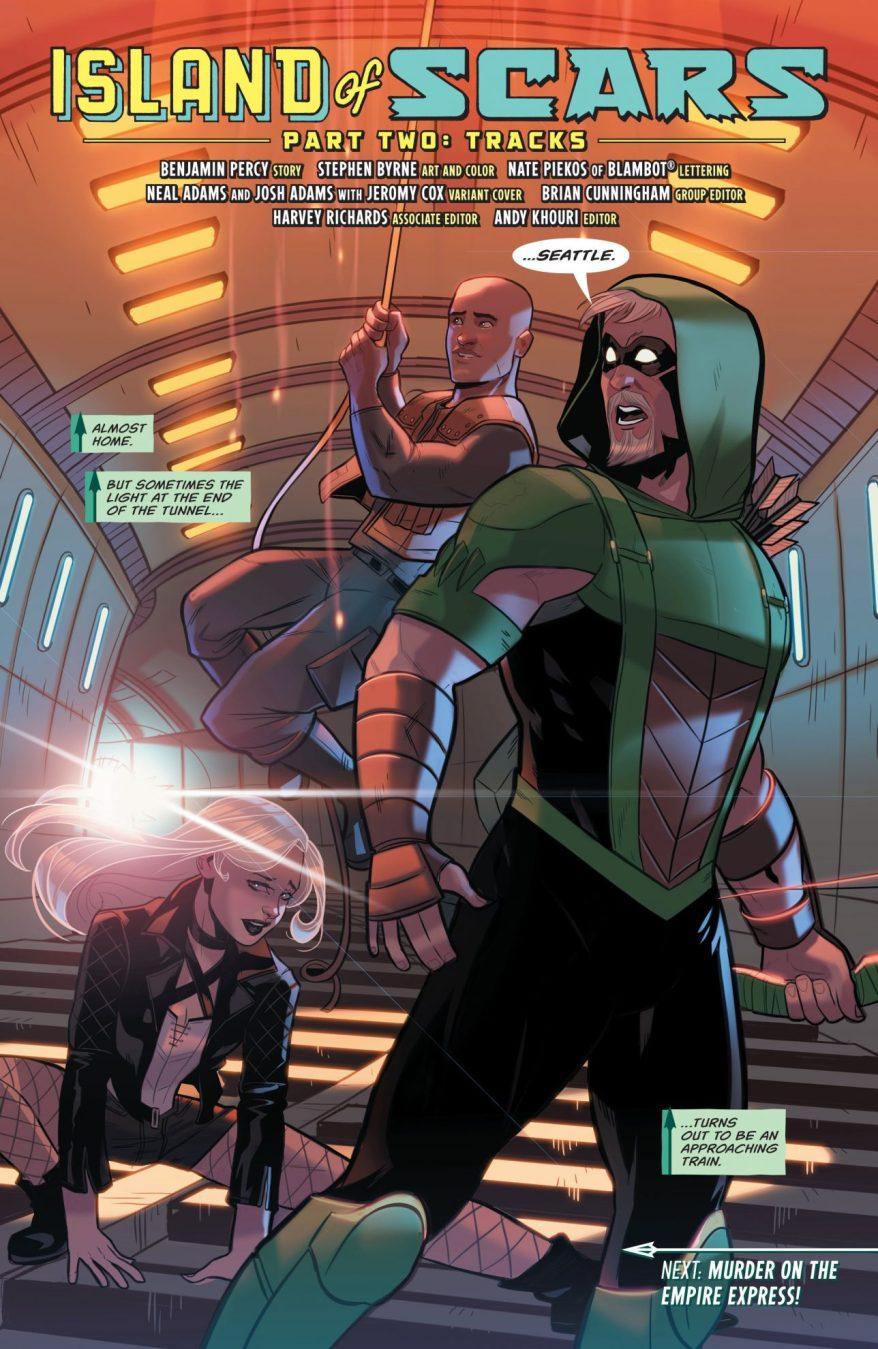 Green Arrow Vol. 6 #9