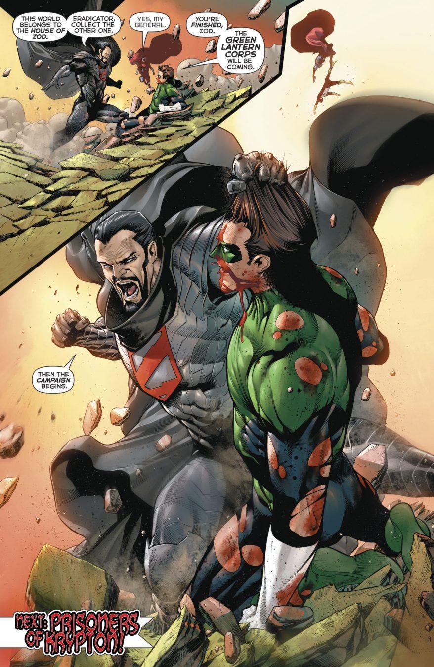 Hal Jordan And Kyle Rayner VS House Of Zod