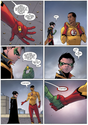 How Kid Flash Rejoined The Teen Titans (Rebirth)