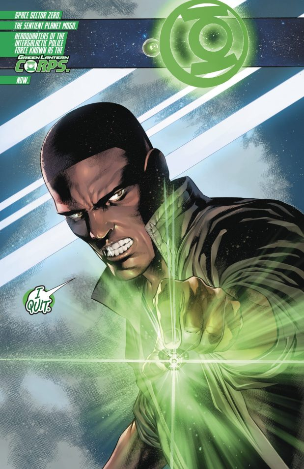 John Stewart (Hal Jordan And The Green Lantern Corps #37