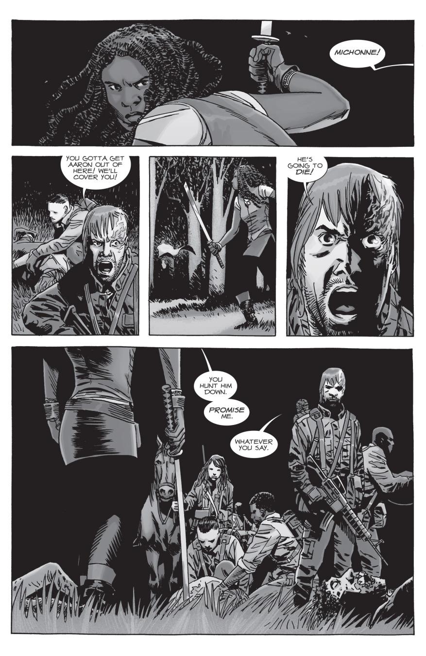 Michonne VS Beta (The Walking Dead)