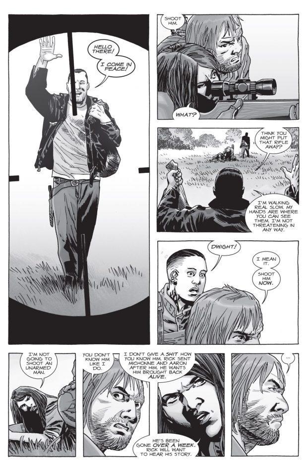 Negan Earns Rick Grimes' Trust (The Walking Dead)