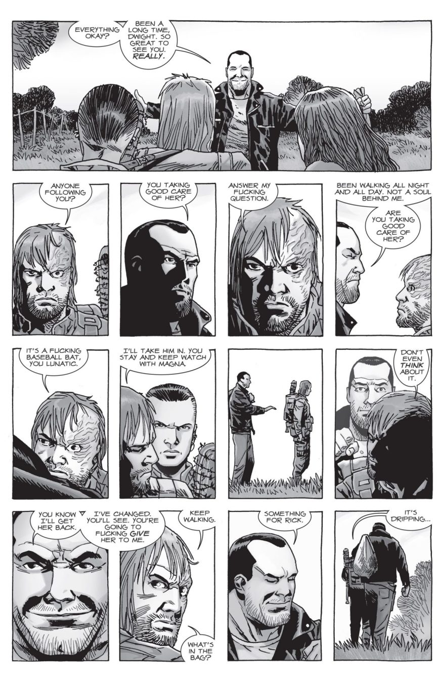 Negan Earns Rick Grimes' Trust (The Walking Dead)