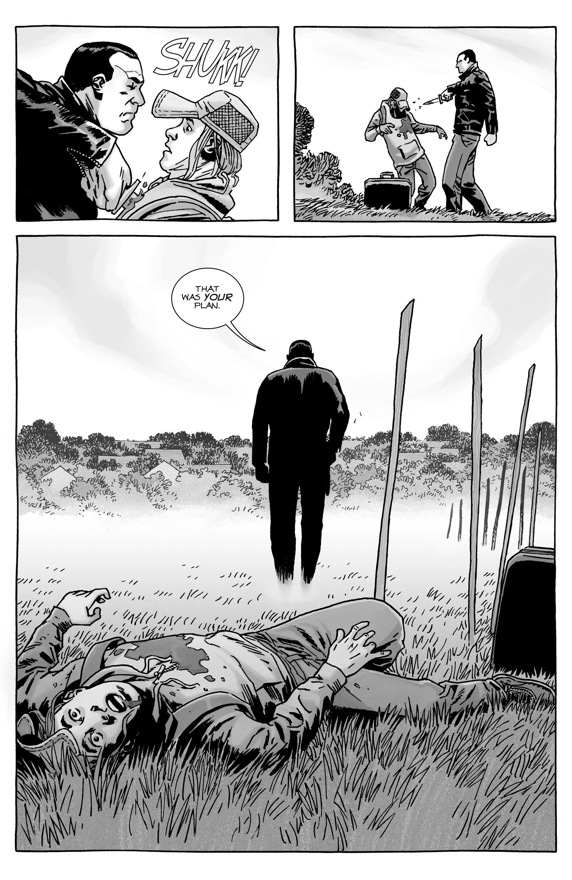 Negan Kills Brandon Rose (The Walking Dead) | Comicnewbies